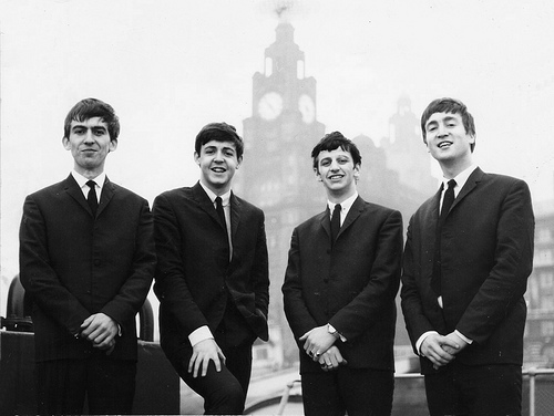 Beatles the early years by burwell on Flickr