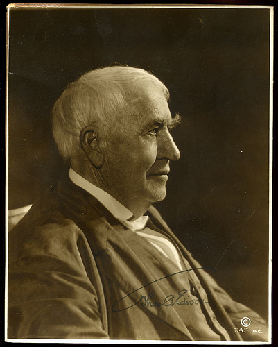 Thomas Edison by Sheepback.Cabin on Flickr