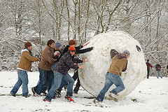 That's a big snowball...